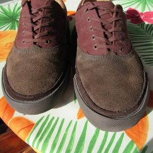 Cole Haan Suede Cloth & Leather Mens Sneakers 8.5""